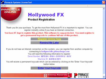 HollywoodFX image001 Licensing and registration