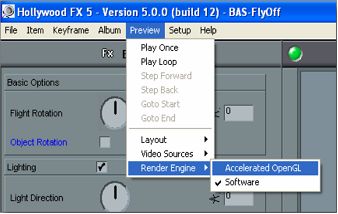 HollywoodFX image001 Adjusting preview rendering performance