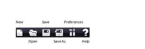 PowerProducer tool bar PowerProducer Projects