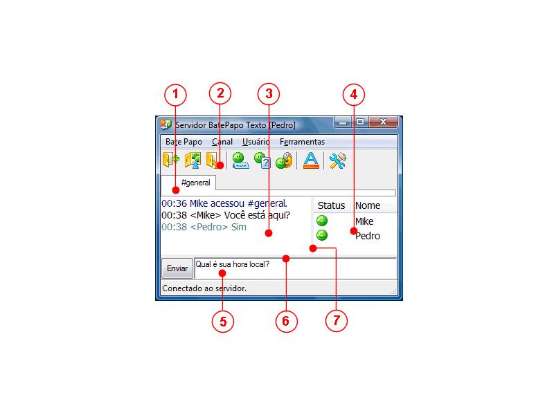 Radmin tcmainwndparts Interface do Usuário