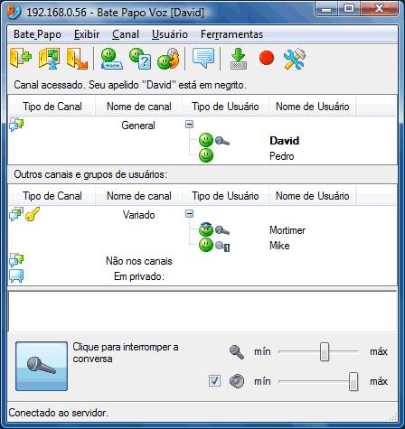 Radmin vcmainwnd Interface do Usuário