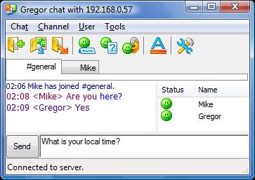 Radmin tcmainwnd User interface
