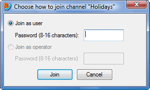 Radmin vc joinwnd Using channels