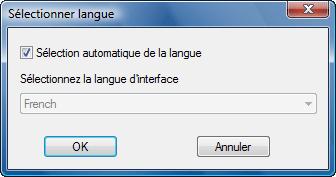 Radmin language Changement de langue