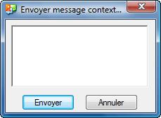 Radmin tc popupmsg Envoi de messages contextuels