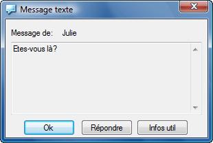 Radmin vc txtmsgwnd Messages de texte