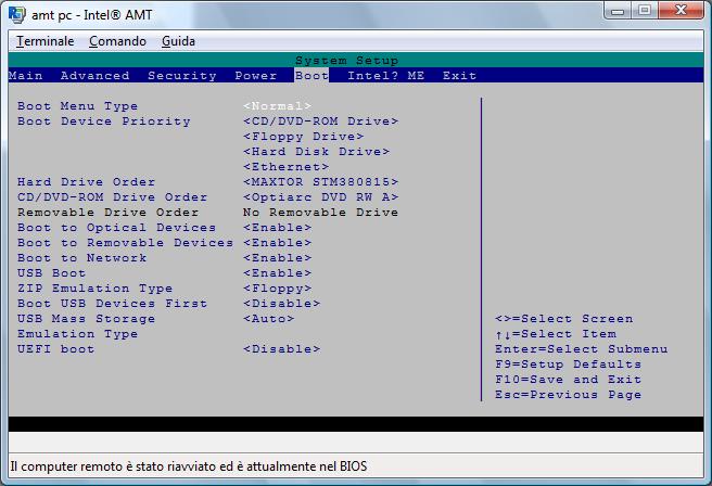 Radmin amt terminal wnd Intel® AMT
