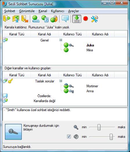 Radmin vcmainwnd Kullanıcı arayüzü