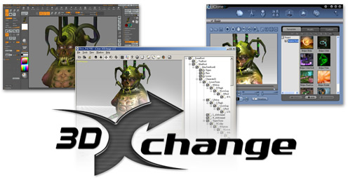 3dXchange about About 3DXchange