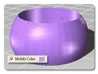 3dXchange modify color Color and Specularity