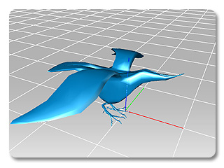 3dXchange rotate blue axis Rotating the Scene
