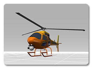 3dXchange tutorial animating 0 Animating a Static Helicopter