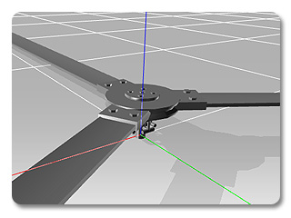 3dXchange tutorial animating 3 Animating a Static Helicopter