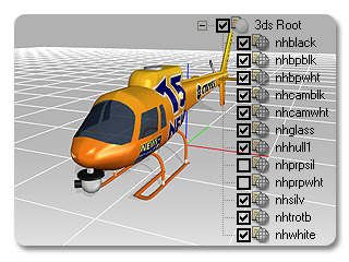 3dXchange tutorial animating 4 Animating a Static Helicopter
