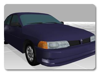 3dXchange tutorial creating car 0 Transform a static model into a realistic car