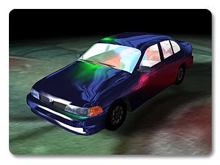 3dXchange tutorial creating car 10 Transform a static model into a realistic car