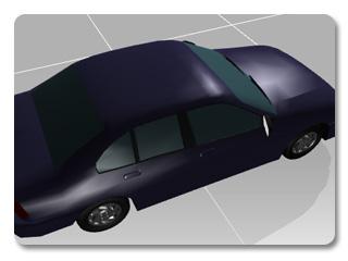 3dXchange tutorial creating car 5 Transform a static model into a realistic car
