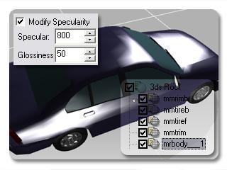 3dXchange tutorial creating car 6 Transform a static model into a realistic car