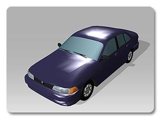 3dXchange tutorial creating car 8 Transform a static model into a realistic car