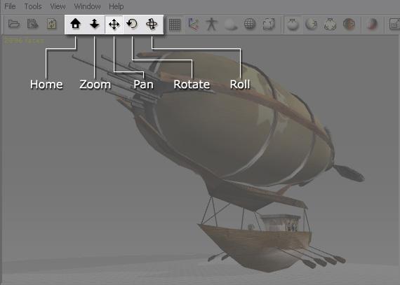 3dXchange ui 3d viewer controls 3D Viewer Controls