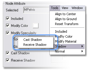 3dXchange ui main menu tools map shadow User Interface   Main Menu   Tools
