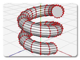 3dXchange vertex Components of Node