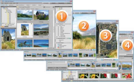 ACDSee Photo Manager 3 1 Std12 GUI 464x284 Infos zur ACDSee Benutzeroberfläche