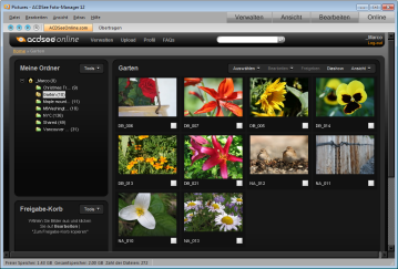 ACDSee Photo Manager SS ACDSee Online sm Std Was ist neu an ACDSee Foto Manager 12