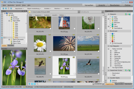 ACDSee Photo Manager manageMd 433x286 Verwaltungsmodus