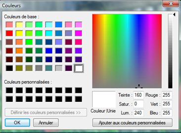 ACDSee Photo Manager SS Color Dialog Utiliser la boîte de dialogue Couleur