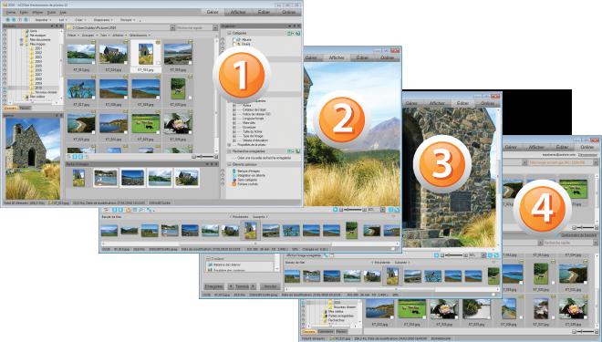 ACDSee Photo Manager SS Std12 GUI À propos de linterface utilisateur ACDSee