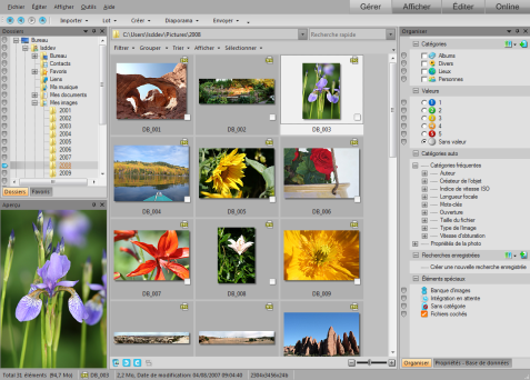 ACDSee Photo Manager manageMd 477x342 Mode Gérer