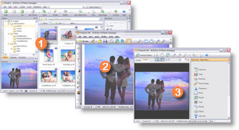 ACDSee Photo Manager SS ACDSee Viewer EditMode Linterfaccia utente di ACDSee