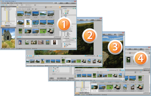 ACDSee Photo Manager ACDSee12Collage JPN 488x309 ACDSee 12 の新機能