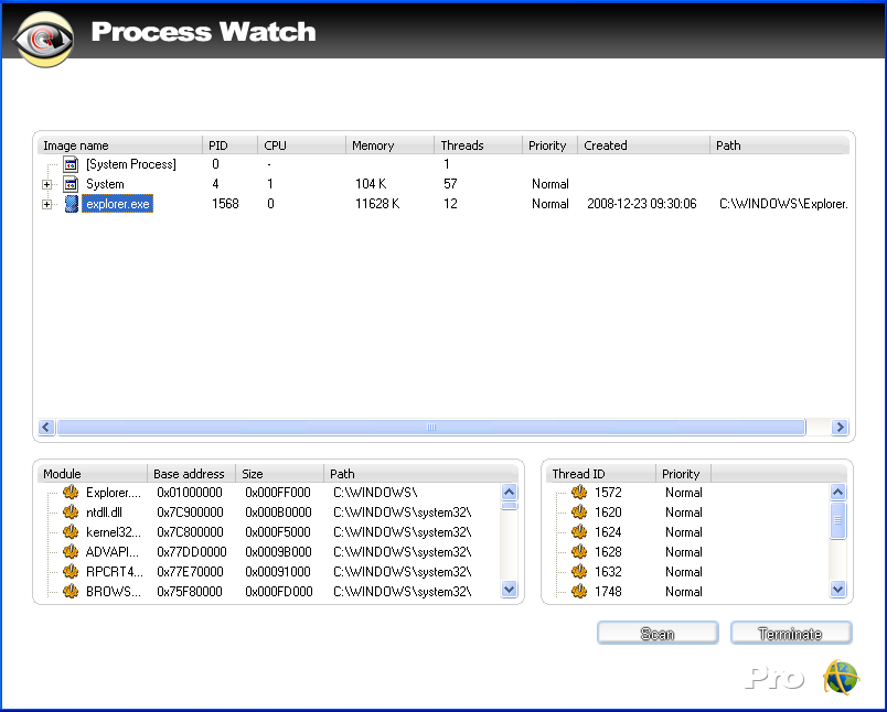 Ad Aware 21processwatch Process Watch