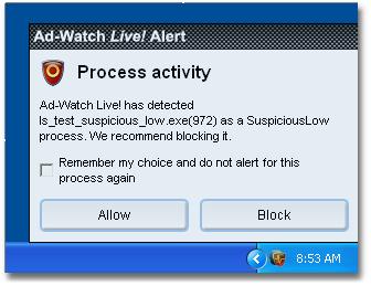 Ad Aware 32ad watchalert%20processchoice Process Notification