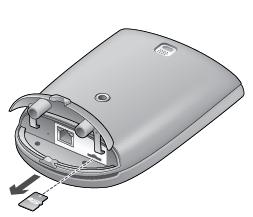 Alert Commander removing microsd into outdoor Einlegen der microSD Karte in den PC