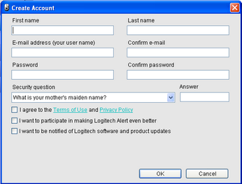 Alert Commander create new account Create a web viewing account