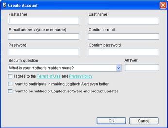 Alert Commander create new account Crear una cuenta de visualización Web