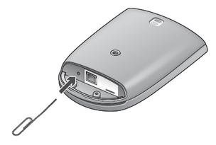 Alert Commander outdoor camera reset image Restablecer una cámara de forma manual