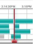 Alert Commander playback timeline red time bar Volver a reproducir grabaciones de video