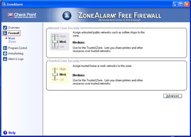 Alert Commander zone alarm free 6 ZoneAlarm gratuito