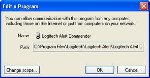 Alert Commander microsoft security alarm 3 Pare feu Microsoft