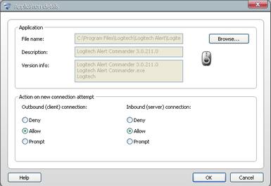 Alert Commander f secure program rules F Secure Internet Security 2010