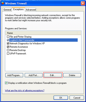 Alert Commander microsoft security alarm 2 Microsoft Firewall