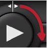 Alert Commander video fast motion Afspeelknoppen voor video