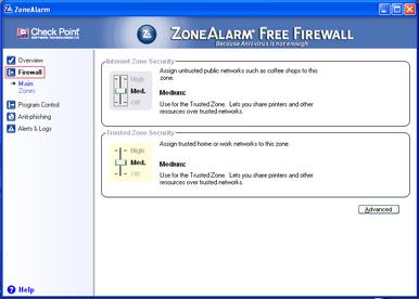 Alert Commander zone alarm free 6 ZoneAlarm Free