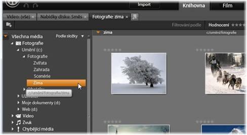 Avid Studio image001 Strom položek