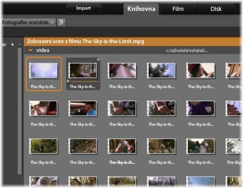Avid Studio image002 Detekce scén videa