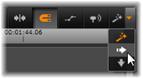 Avid Studio image013 Panel nástrojů časové osy